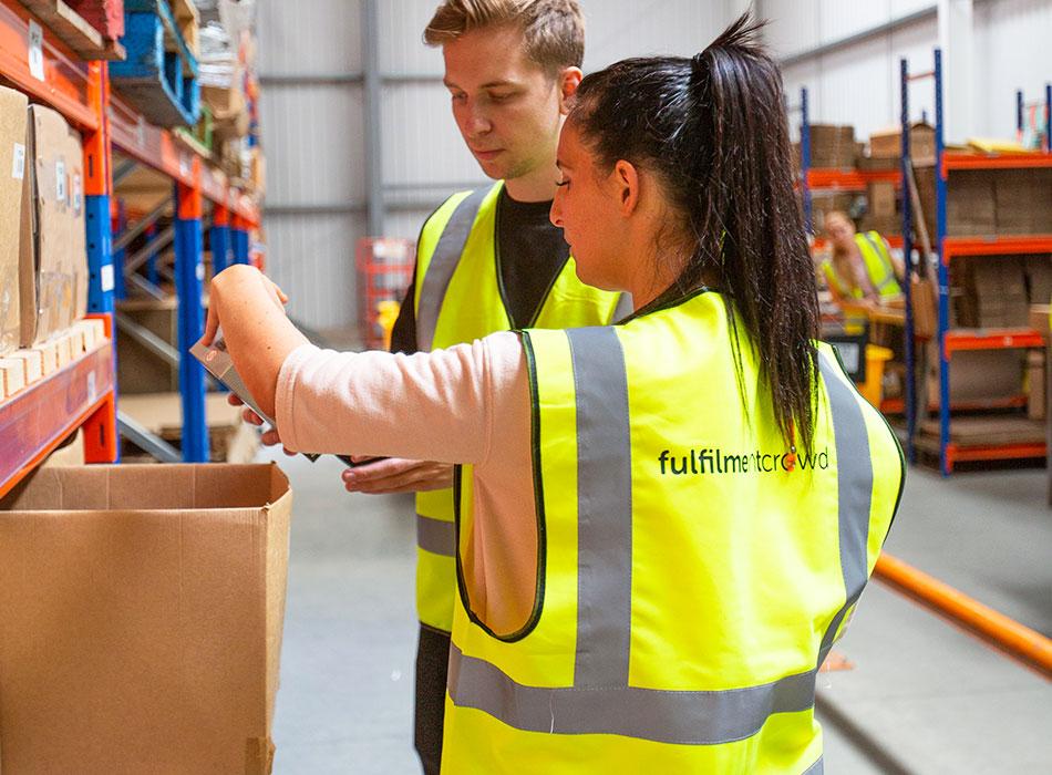 Online-Händler vertrauen darauf, dass wir Bestellungen immer pünktlich erfüllen